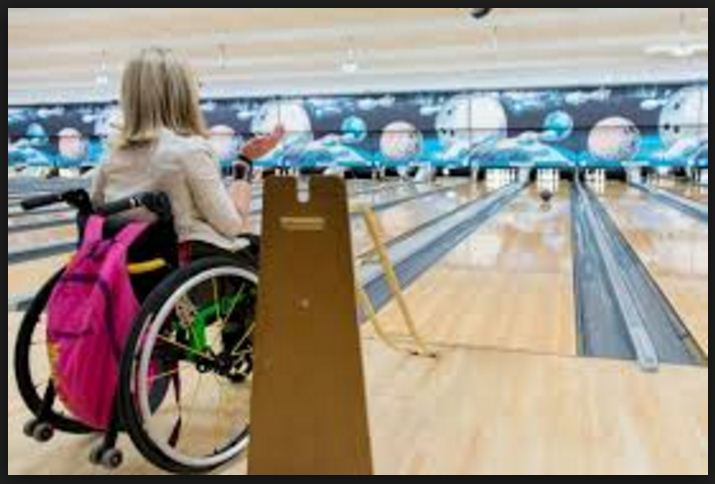 Bowling Ramp for Wheelchair