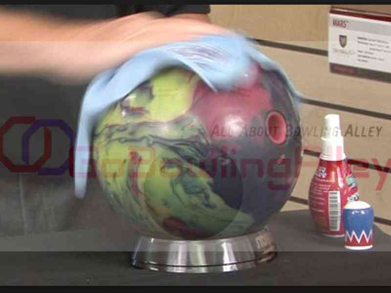 bowling ball cleaner