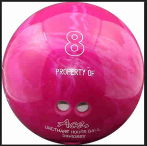 8 property of house bowling ball