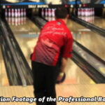 Slow Motion Footage of the Professional Bowling Swing